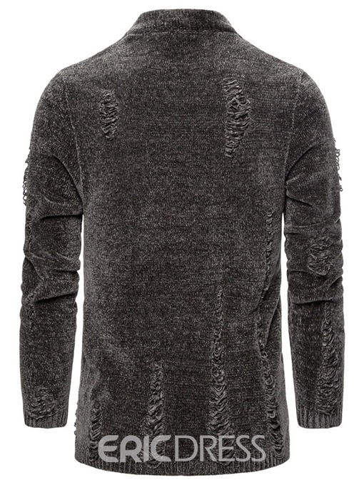 Ericdress Plain Standard Spring Men's Sweater
