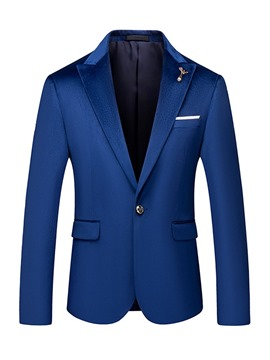 Ericdress England Straight Button Men's Blazer
