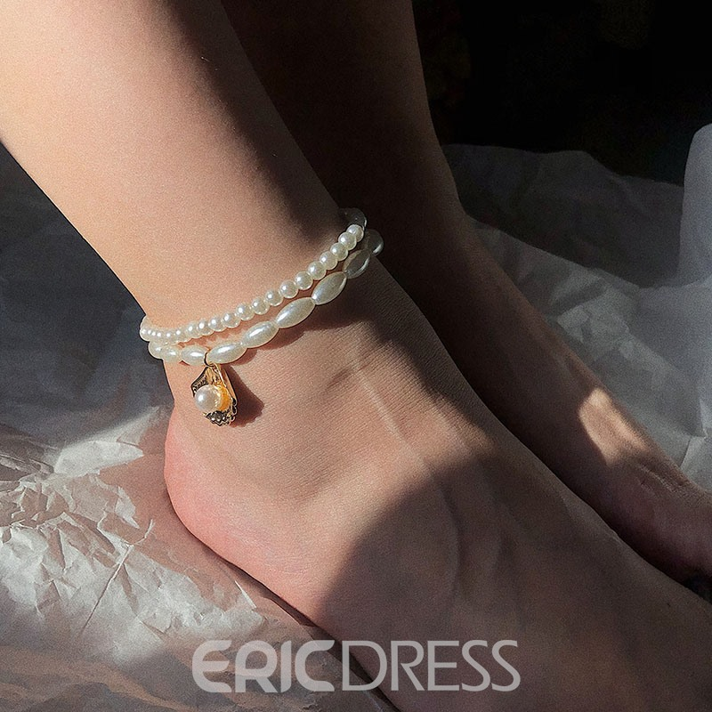 Ericdress Sweet Beads Anklets