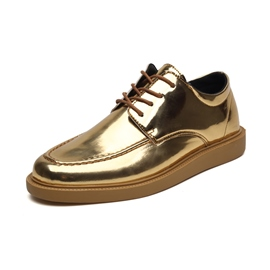 Ericdress Plain Lace-Up Low-Cut Upper Men's Work Shoes