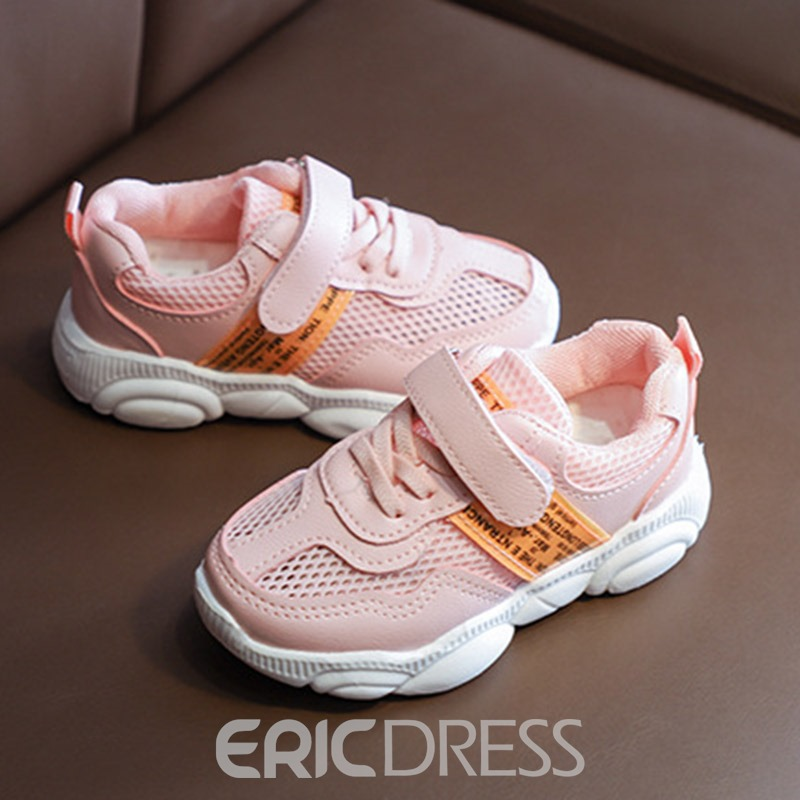 Ericdress Round Toe Lace-Up Baby Sneakers