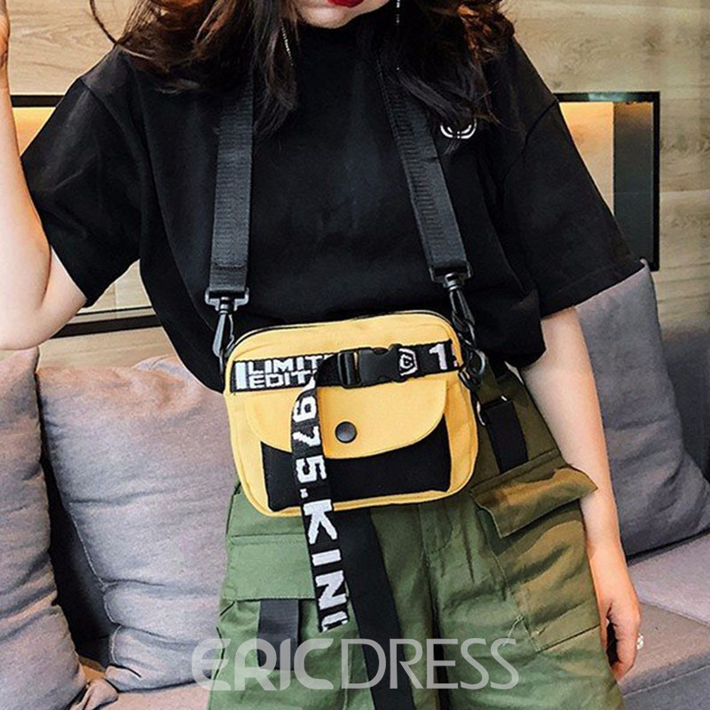 Ericdress Belt-Decorated Square Crossbody Bags