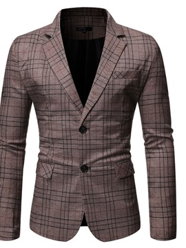 Ericdress Fashion Button Slim Leisure Men's Blazers