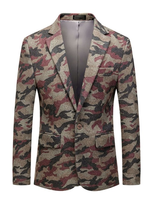 Ericdress Slim Notched Lapel One Button Leisure Blazers