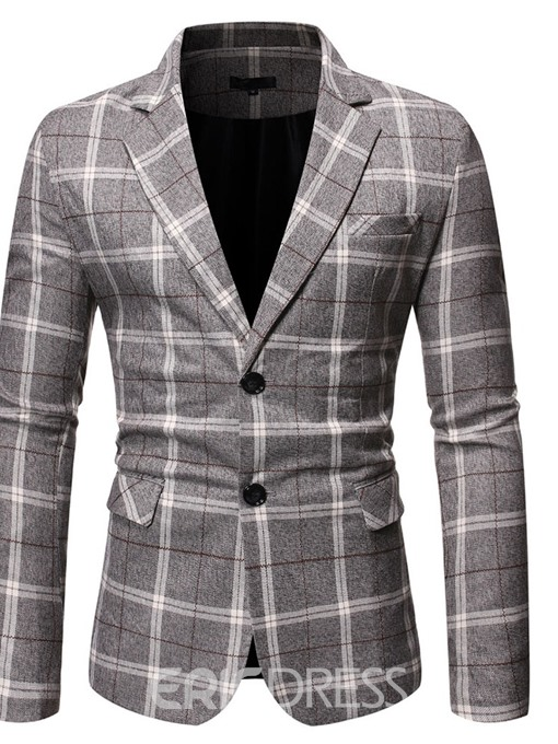 Ericdress Button Single-Breasted Notched Lapel Leisure Blazers