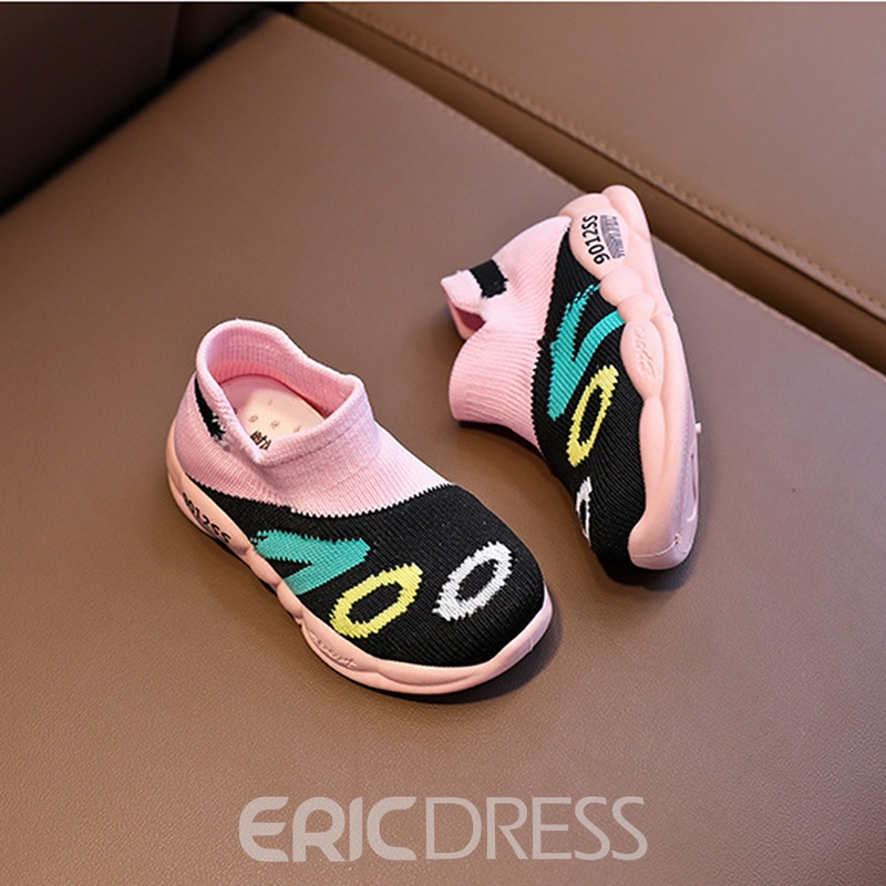 Ericdress Spring Color Block Baby Sneakers