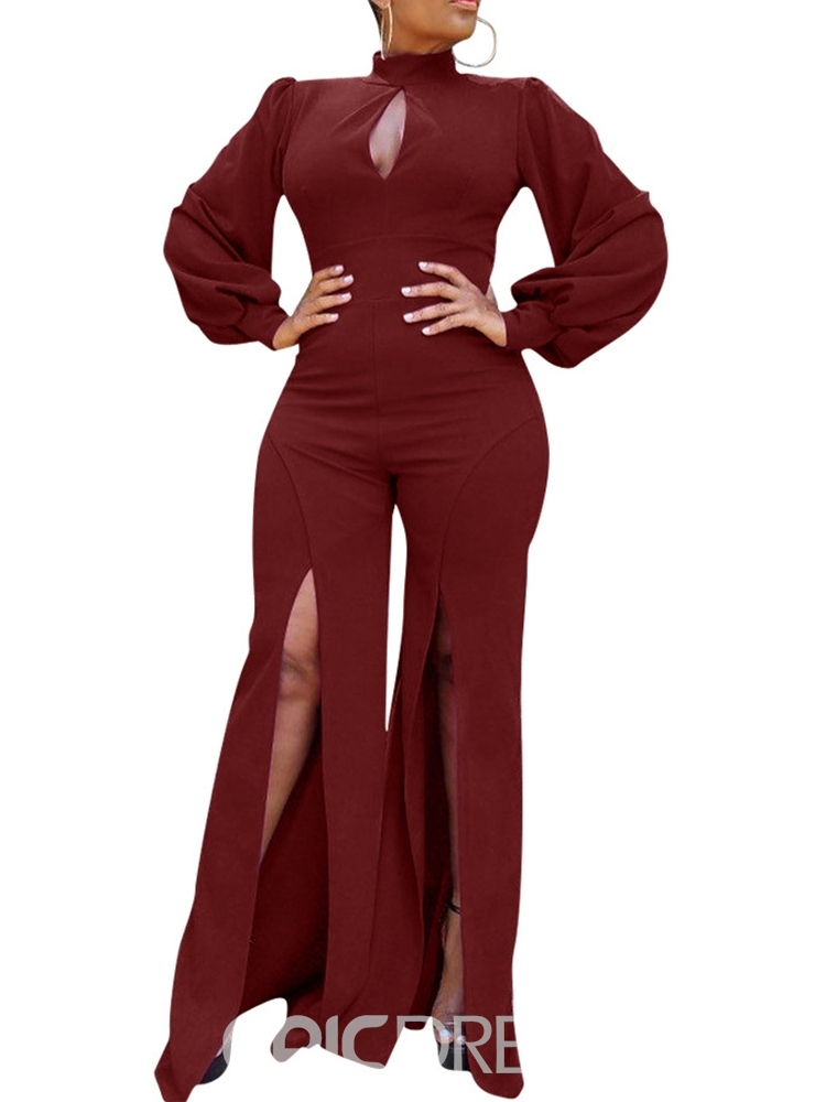 Ericdress Plain Full Length Fashion Slim Sexy Jumpsuit