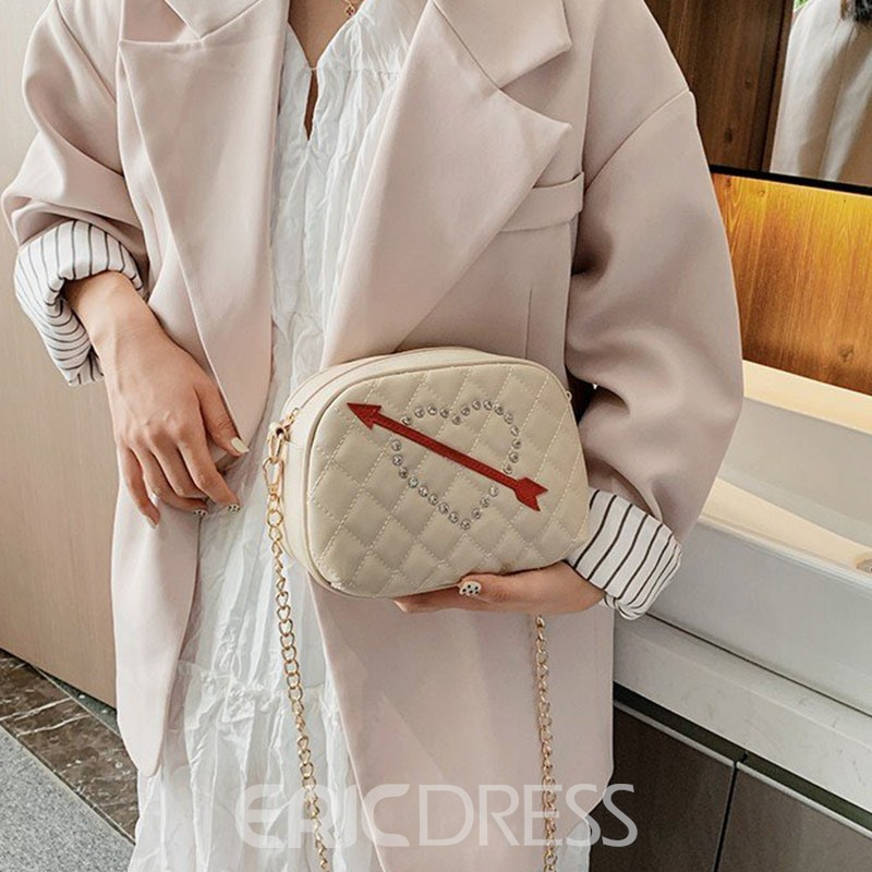 Ericdress PU Heart Shaped Flap Crossbody Bags