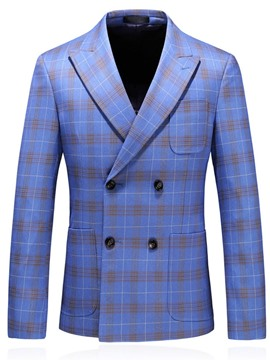 Ericdress Casual Pocket Notched Lapel Men's Blazer