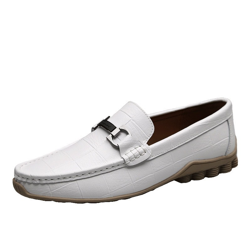 Ericdress Plaid Slip-On Round Toe Men's Casual Shoes