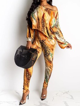 Ericdress Sexy African Fashion Dashiki Gradient Two Piece Sets