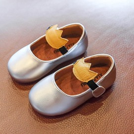 Ericdress Round Toe Spring Princess Baby Shoes