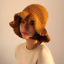 Ericdress Plain Woolen Yarn Knitted Hat Fall Hats
