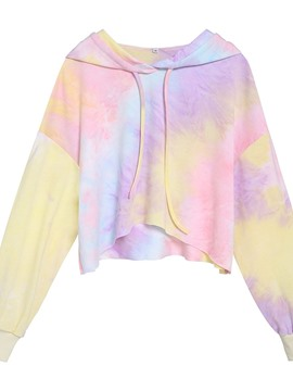 Ericdress Gradient Fall Long Sleeve Hoodie