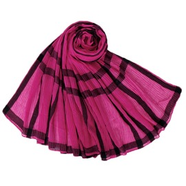 Ericdress Voile Print Plaid Scarves