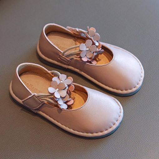 Ericdress Plain Round Toe Fall Baby Princess Shoes