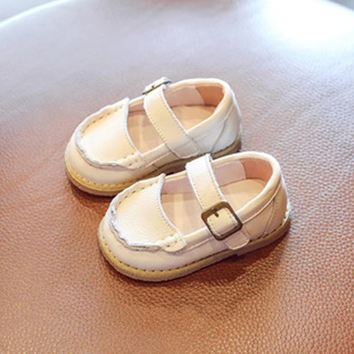 Ericdress Plain Hasp Toddler Shoes