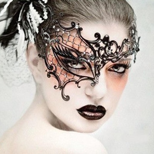 Ericdress Halloween Party Lace Masks
