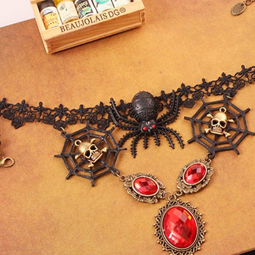 Ericdress Vintage Halloween Pendant Necklace