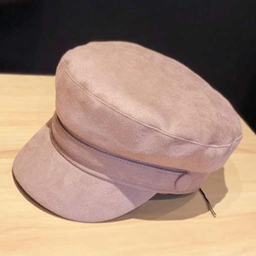 Ericdress Plain Suede British Hats