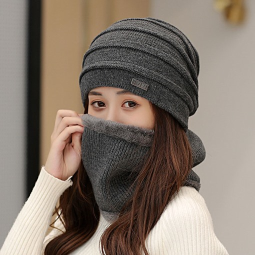 Ericdress Korean Woolen Yar Plain Women's Knitted Hats