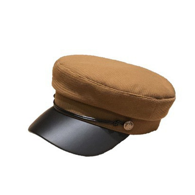 Ericdress Plain Casual Short Brim Hats