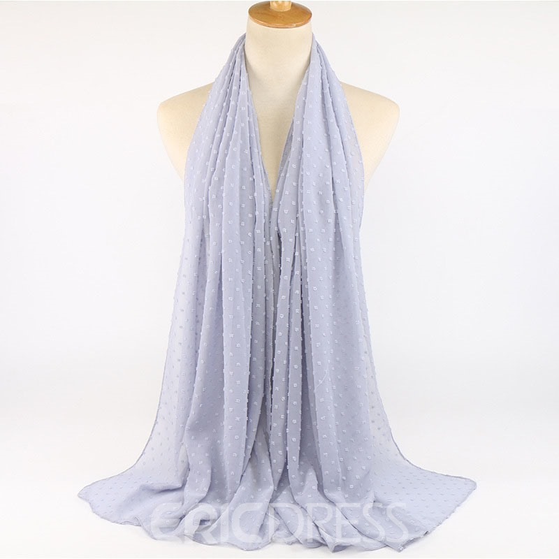 Ericdress Chiffon Floral Scarves