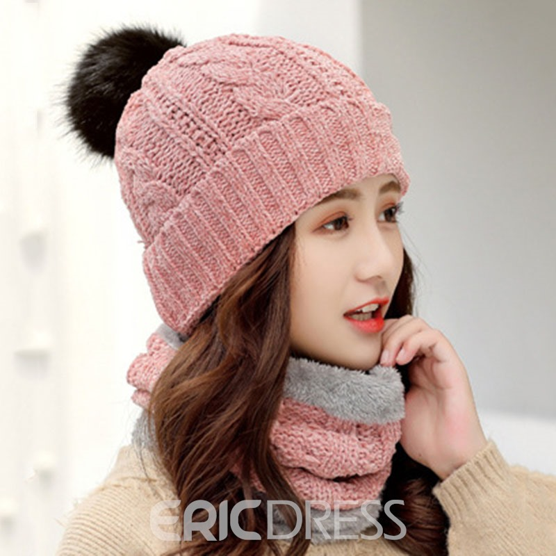Ericdress Hemming Letter Women's Knitted Hats