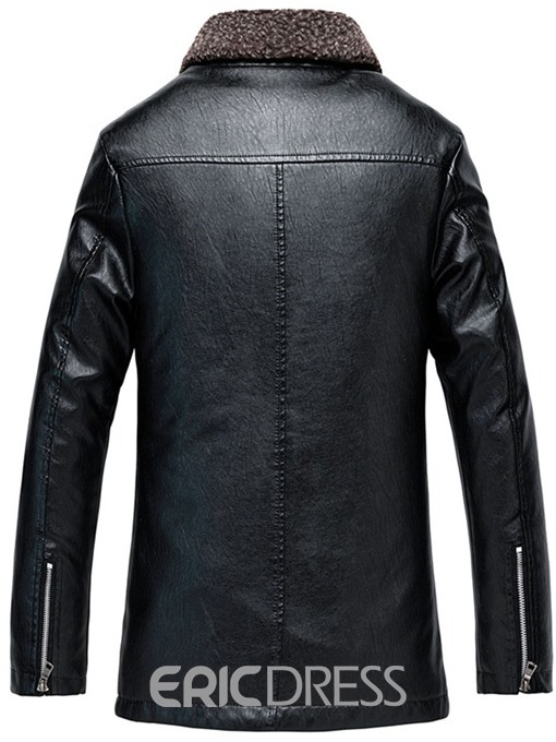 Ericdress Patchwork Stand Collar Zipper Men's Jacket