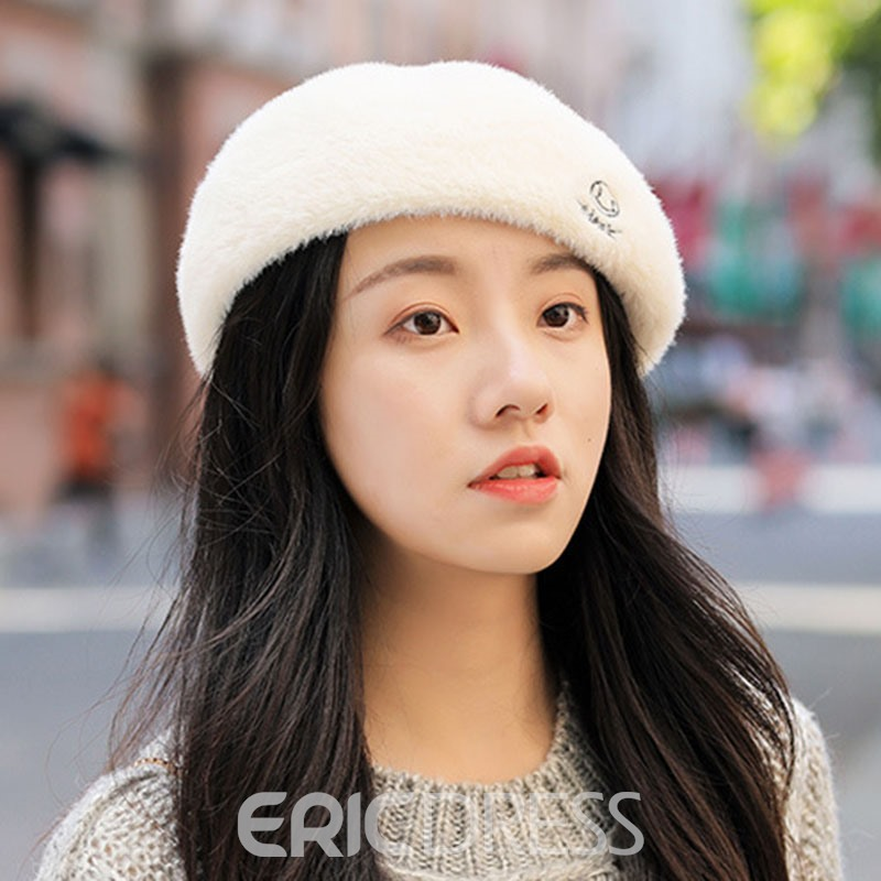Ericdress Beret Embroidery Fall Hats