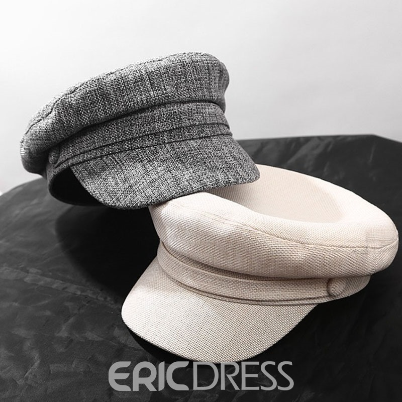 Ericdress Plain Linen Spring Hats