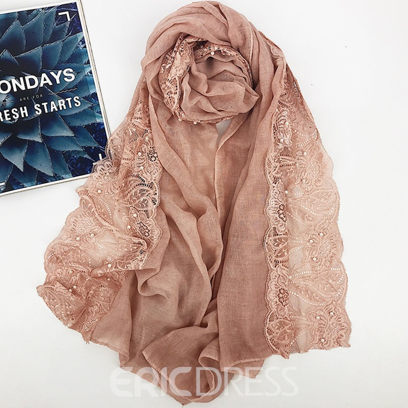 Ericdress Hollow Floral Women's Scarves