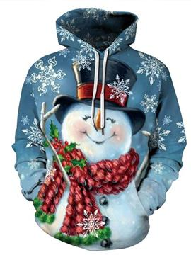 Ericdress Cartoon Pullover Print Loose Men's Hoodies