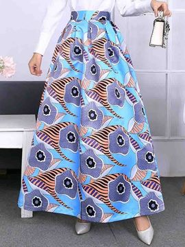 Ericdress Expansion Print Plant Sweet Skirt