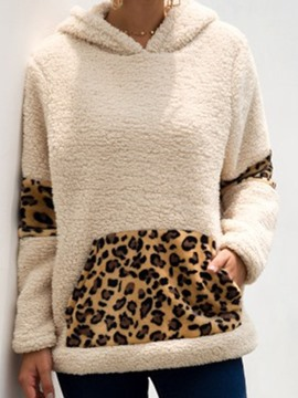 Ericdress Regular Leopard Fall Hooded Hoodie