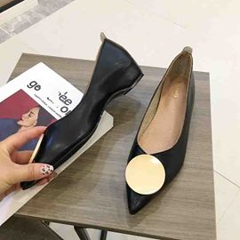 Ericdress Slip-On Pointed Toe Women's Flats