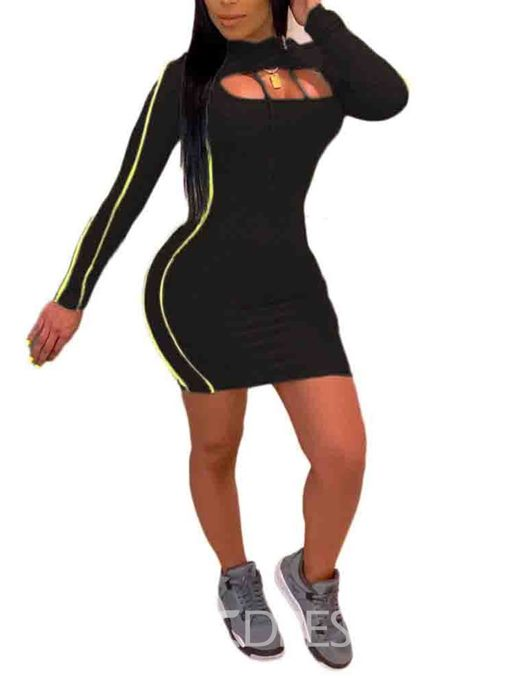 Ericdress Color Block Sports Hoodie Two Piece Sets
