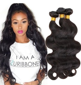 Ericdress 100% Unprocessed Peruvian Virgin Human Hair Extensions Body Wave Hair Bundles