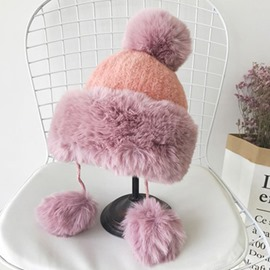 Ericdress Plain Knitted Hat Sweet Fall Hats