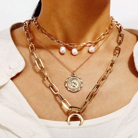 Ericdress Link Chain E-Plating Necklaces