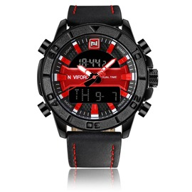 Ericdress Round Quartz Analog-Digital Watches