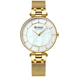 Ericdress Round Quartz Pin Buckle Watches