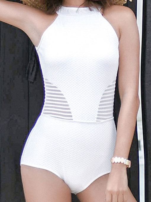 Ericdress Sexy One Piece Plain Fashion Swimwear