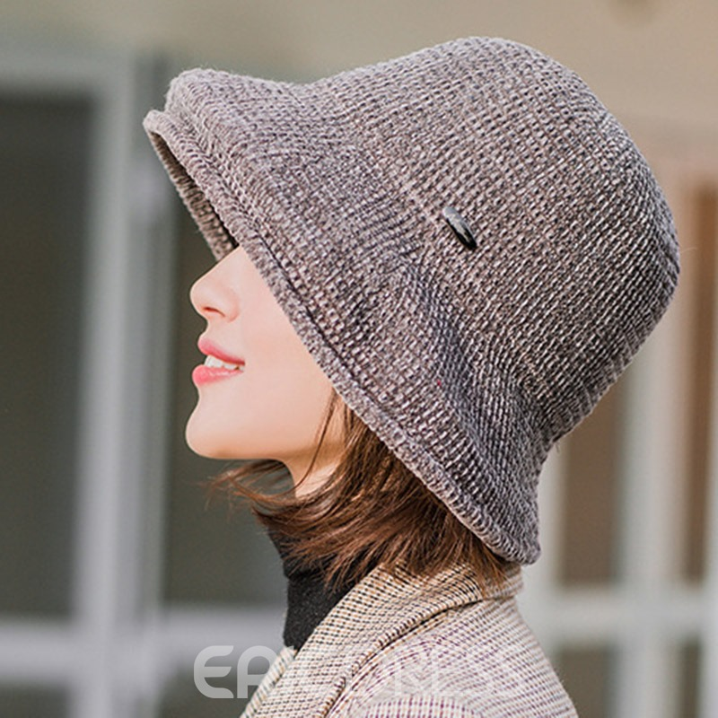 Ericdress Plain Casual Fall Hats