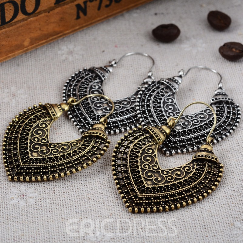 Ericdress Alloy Vintage Anniversary Earrings