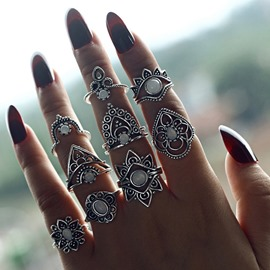 Ericdress Vintage Birthday Rings