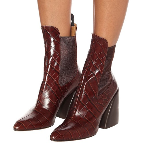 Ericdress Slip-On Patchwork Pointed Toe Women's Ankle Boots