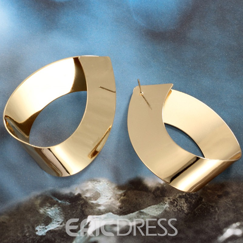 Ericdress Alloy E-Plating Birthday Earrings