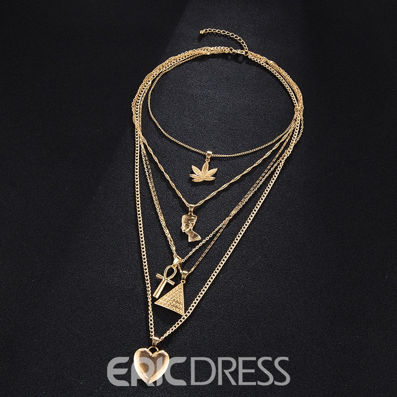 Ericdress E-Plating Holiday Pendant Necklaces