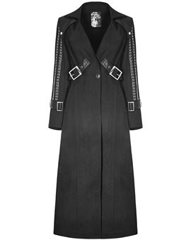 Ericdress Halloween Costume Button Loose Long Overcoat